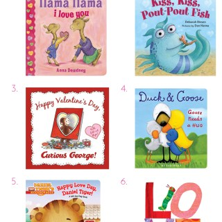 Toddler Valentine's Day Books