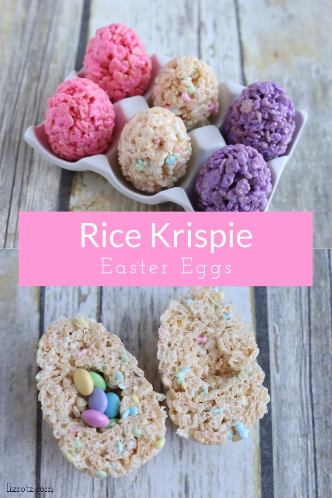 Rice Krispie Easter Eggs - A fun and delicious Easter treat for everyone!