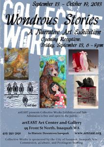 Wondrous Stories: A Narrative Show at artEAST