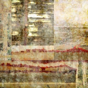 a mile wide: Digital collage by Liz Ruest, 25 layers