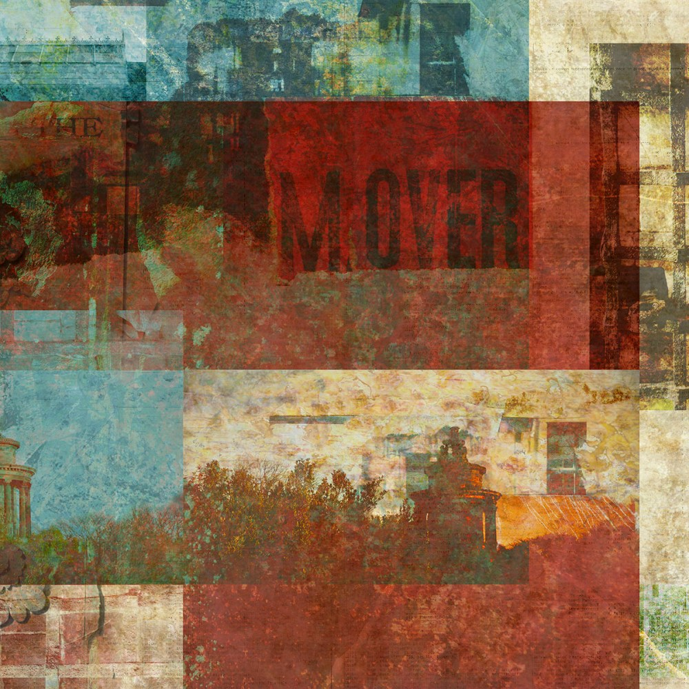 comes first to the hill: DIgital collage by Liz Ruest