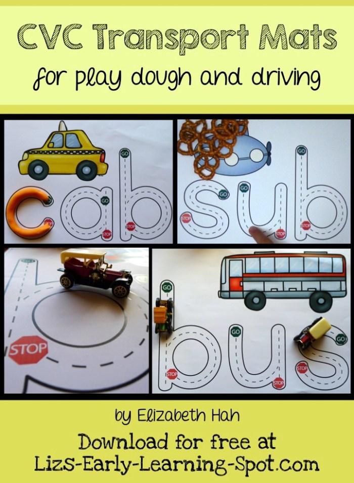 CVC Transport Mats (Liz's Early Learning Spot)