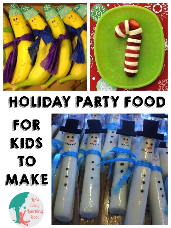 Healthy foods for a Christmas party!