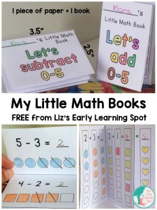 My Free Little Math Books