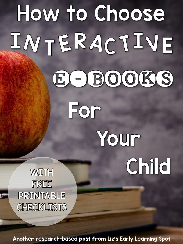 How to Choose Interactive e-Books for your Child