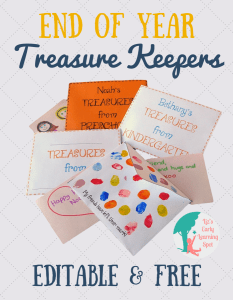 End of Year Treasure Keepers