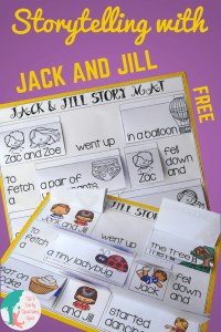 Storytelling with Jack and Jill