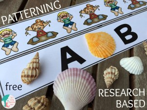 Download this free research-based patterning activity