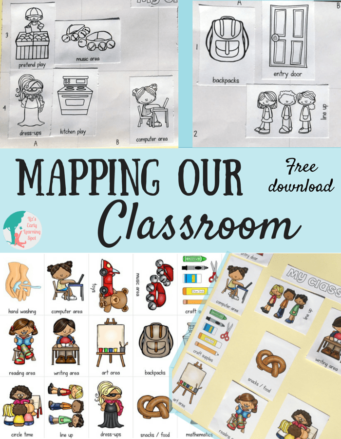 Help your kids get to know their classroom with this free mapping activity.