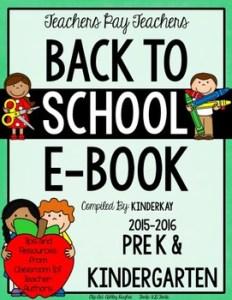 50 Free Back to School Kindergarten Printables