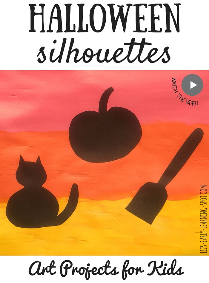 Art Projects for Kids: Halloween Silhouettes
