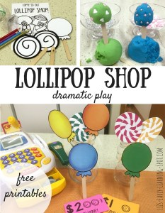Dramatic Play: Lollipop Shop