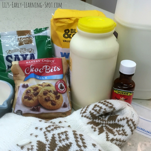 Everything you need to make homemade ice cream!