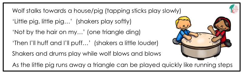 This is a great way to add music to a class performance!