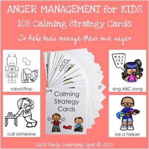 108 Calming Strategy Cards