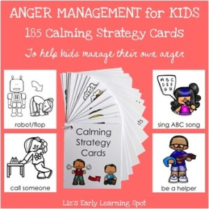 anger management 23 free calming strategy cards
