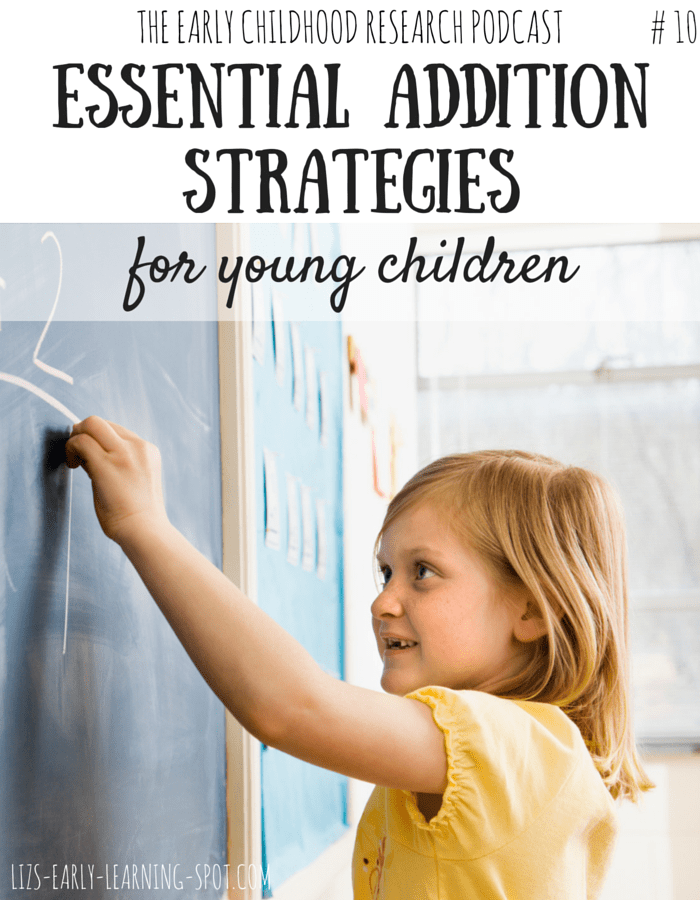 Dr Elida Laski talks about the most essential addition strategies our children should be learning!