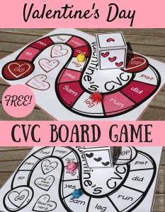 Valentine's Day CVC Board Game