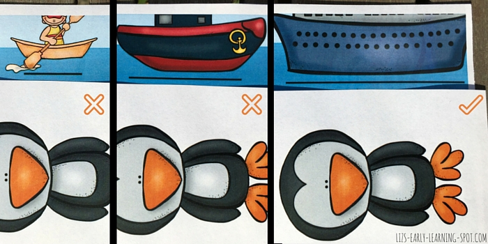 Can we sort all the ocean creatures into small, medium and large? Free printable!