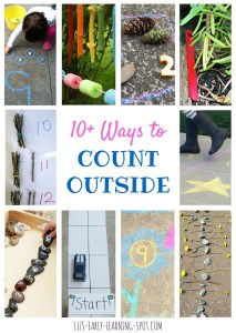 10 Ways to Count Outside