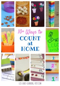 10 Ways to Count at Home