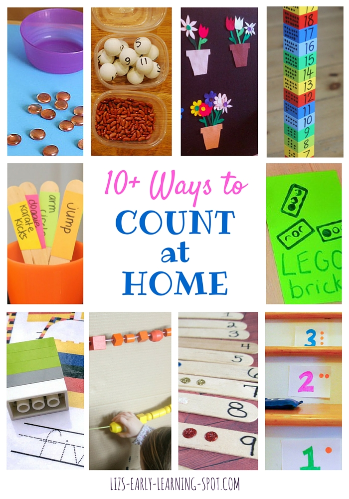 Find some brilliant ways to count at home!