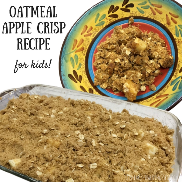 This straight forward apple recipe is excellent for the kids to be able to pitch in. Free recipe and checklist!