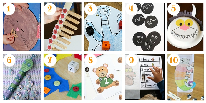 Here are some counting ideas to go along with your favourite storybooks!
