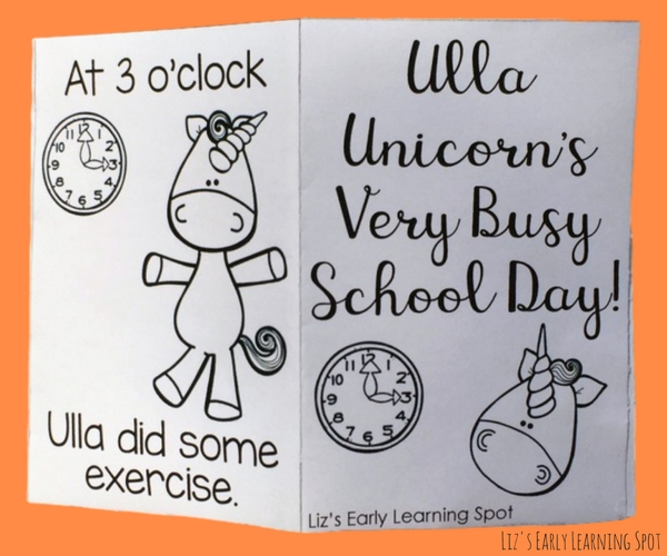 What do unicorns do at school? Find out with this free reader!