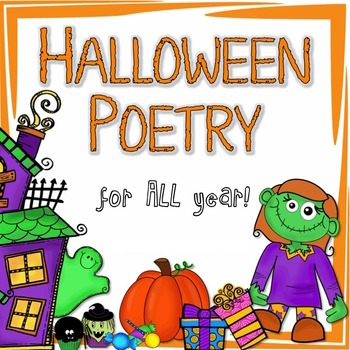 Check out these 10 original poems with learning activities for Halloween!