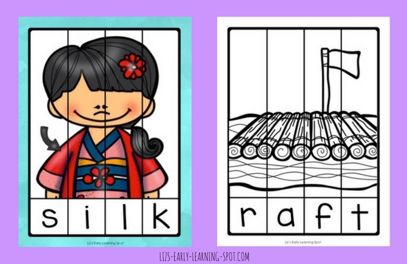 Reading is fun with these free final blends CVCC word puzzles!