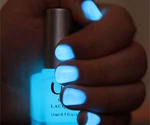 Black Light Nail Polish