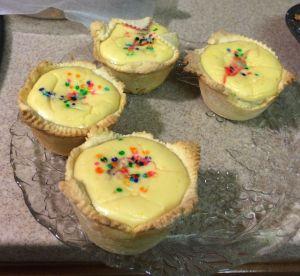 Italian cheese cupcakes