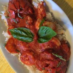 Lobster and shrimp Fra Diavolo