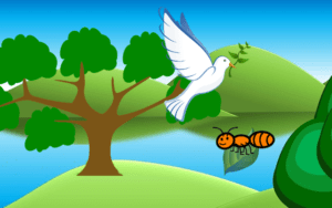 Children Moral Stories Ant And The Dove