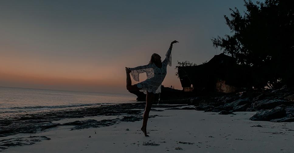 Dormir seul sur une ile paradisiaque