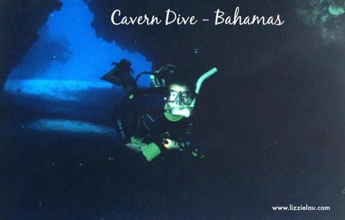 cavern dive bahamas lizzie lau