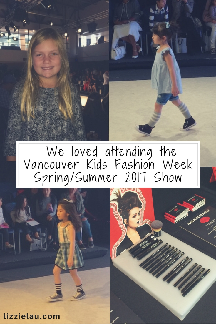 We loved attending the Vancouver Kids Fashion Week Spring/Summer 2017 Fashion Shows.