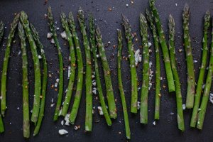 spicy roasted asparagus recipe