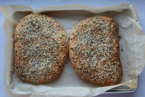 maneesh bread fresh out of the oven