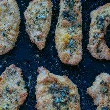 crispy garlic chicken dippers