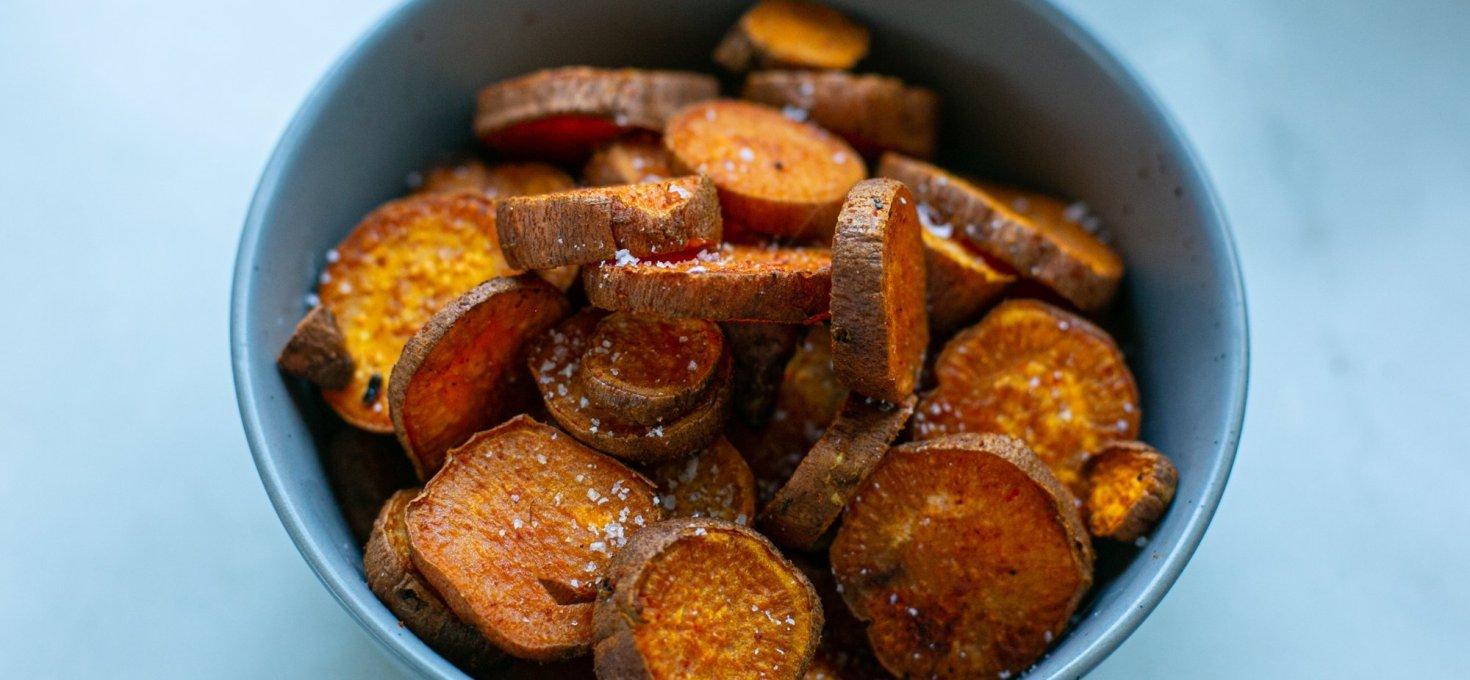 Paprika Roasted Sweet Potato Chips