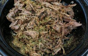 Dishoom's Lamb Raan served with kebab masala