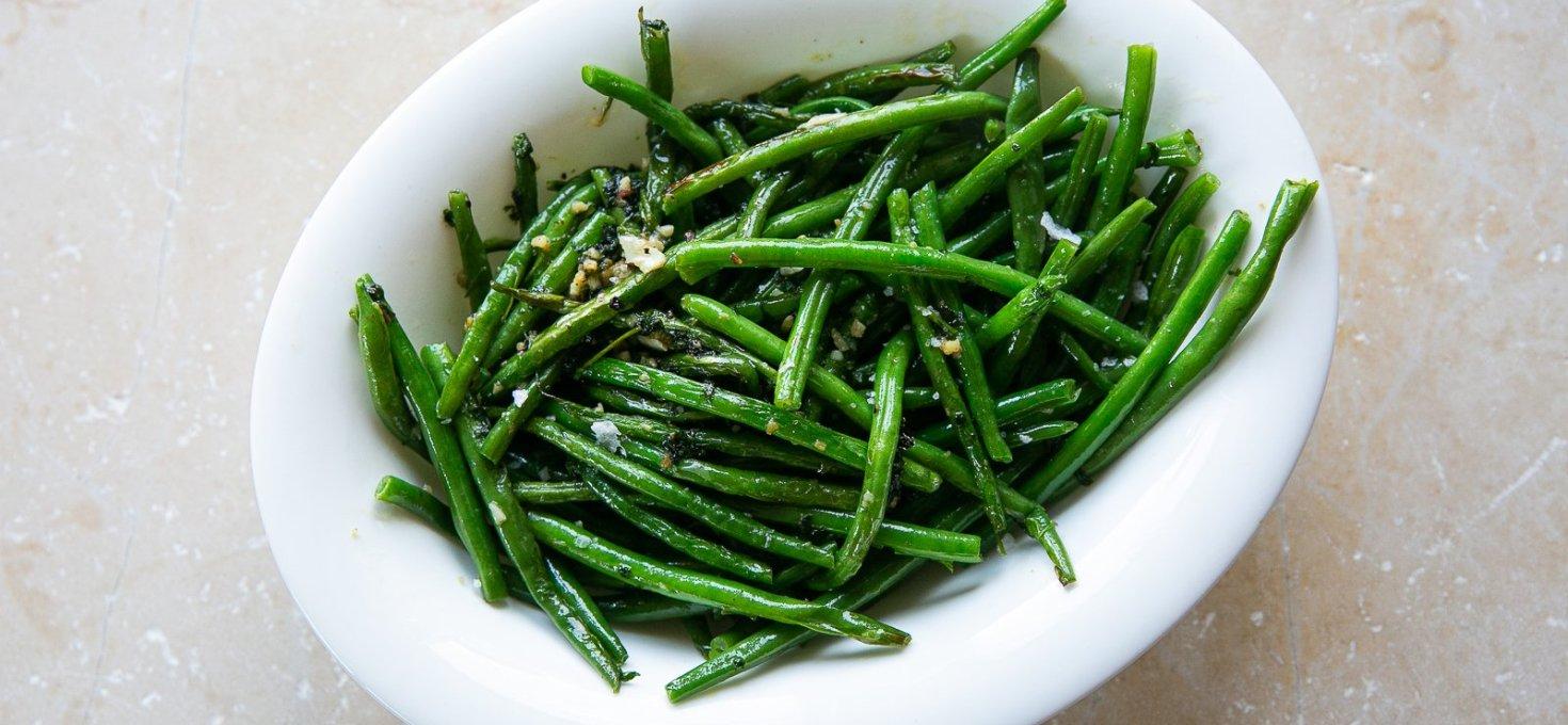 Garlic French Beans