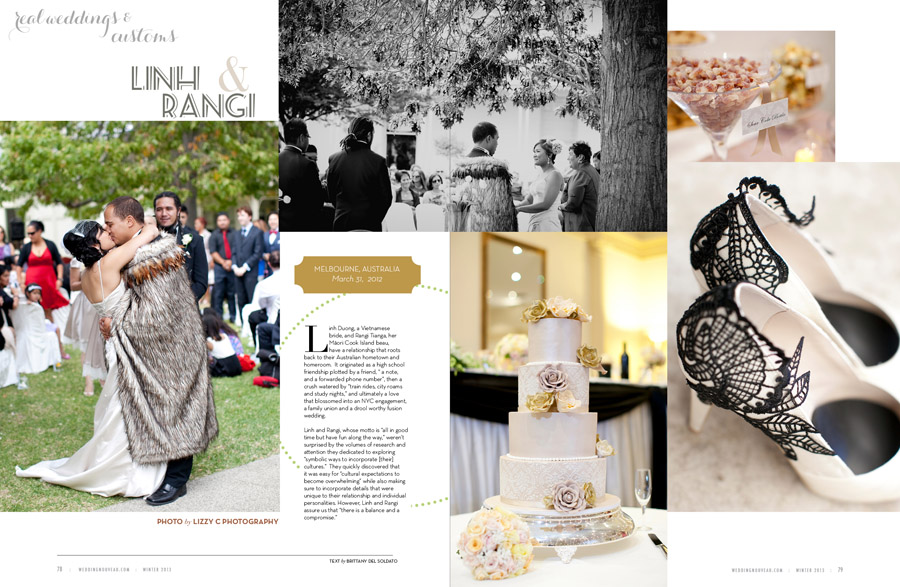 As Seen In American Wedding Magazine Nouveau Melbourne