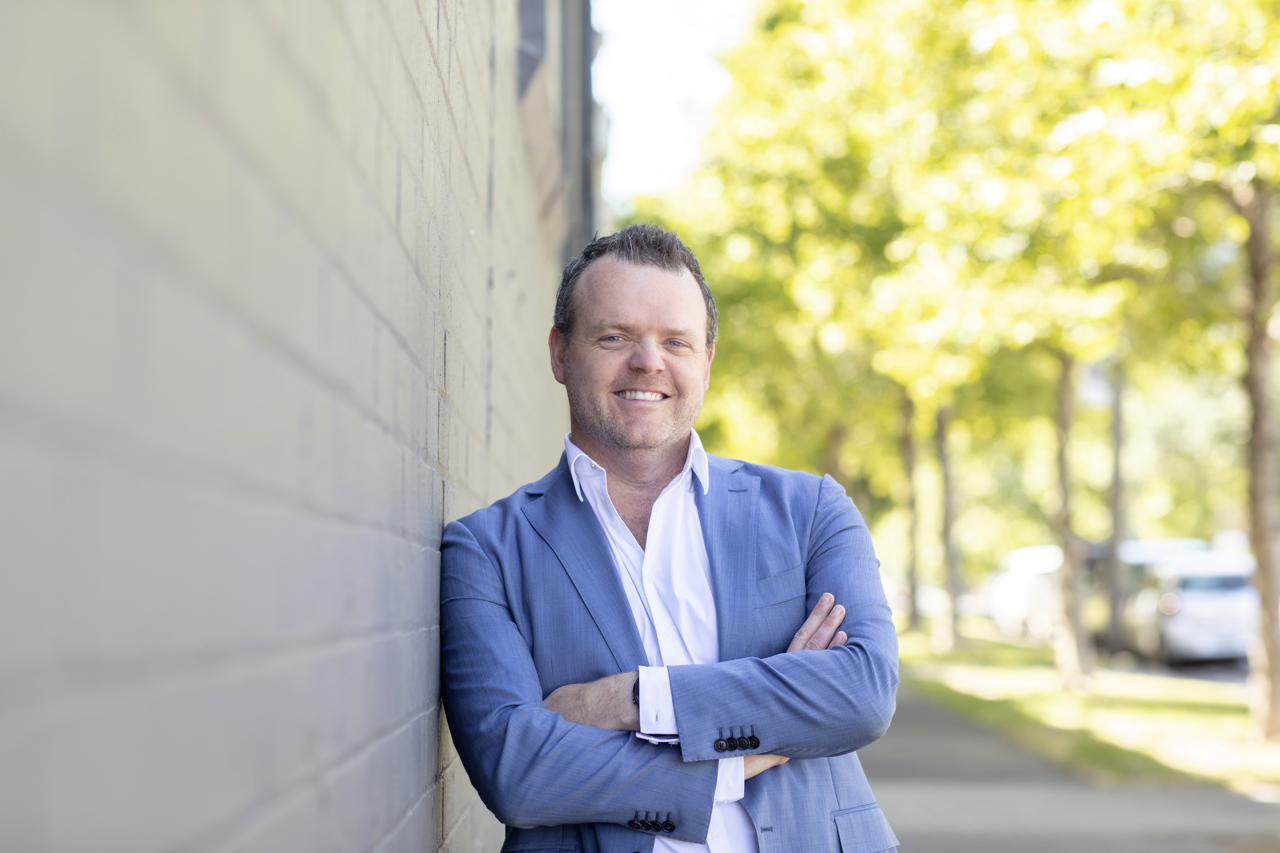 Branding Head Shot of Melbourne Financial Planner