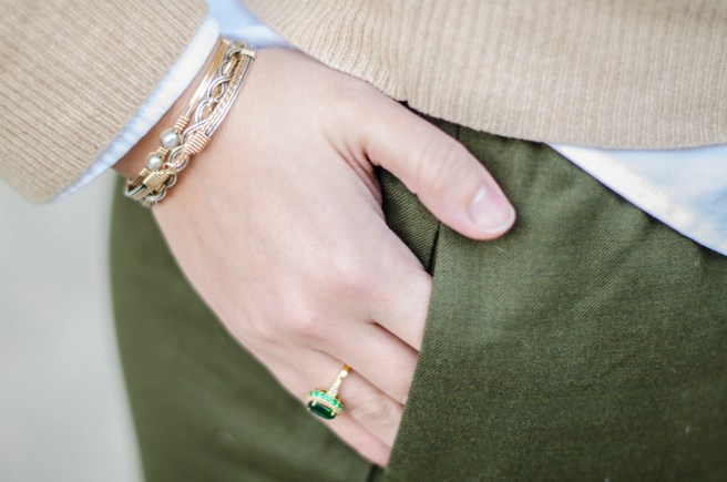 A few strategies for picking the perfect business casual outfit featuring my favorite... a Cashmere sweater!