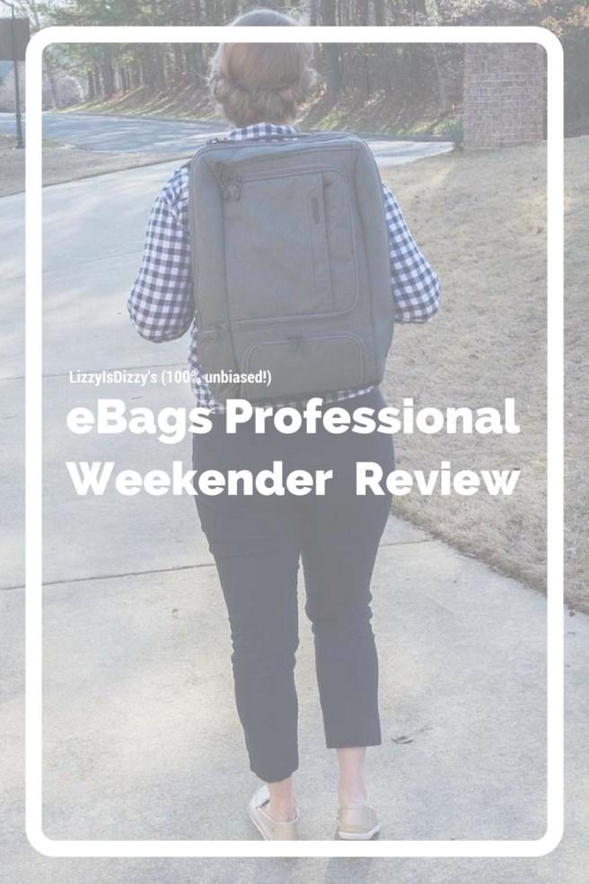 eBags Professional Weekender review