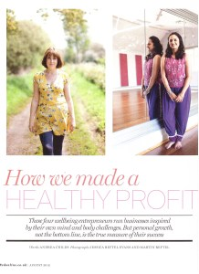 How we made a healthy profit