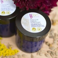 Organic moisturising face cream
